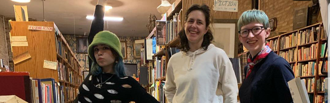 Meet our new booksellers!