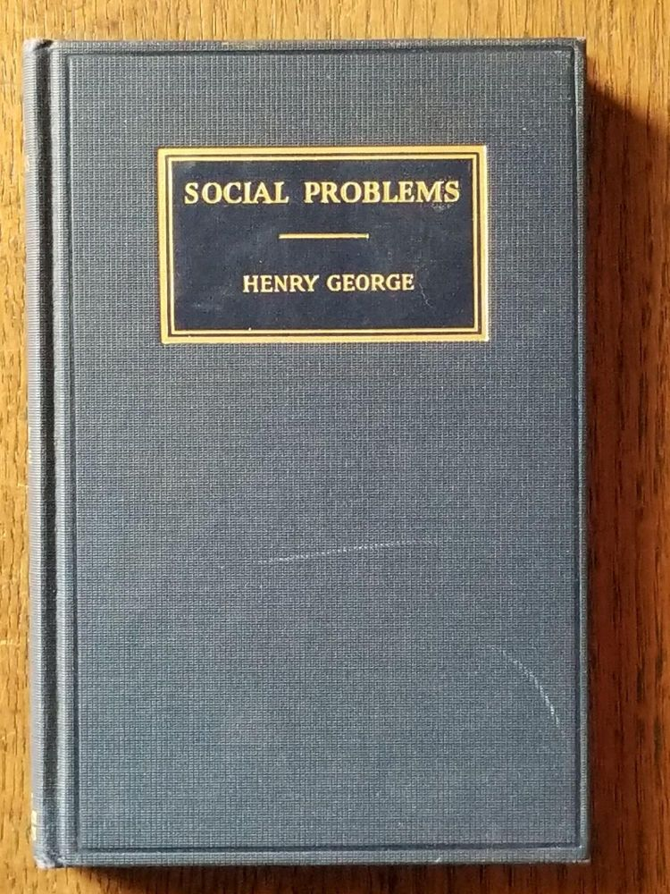 Social Problems. Henry GEORGE.