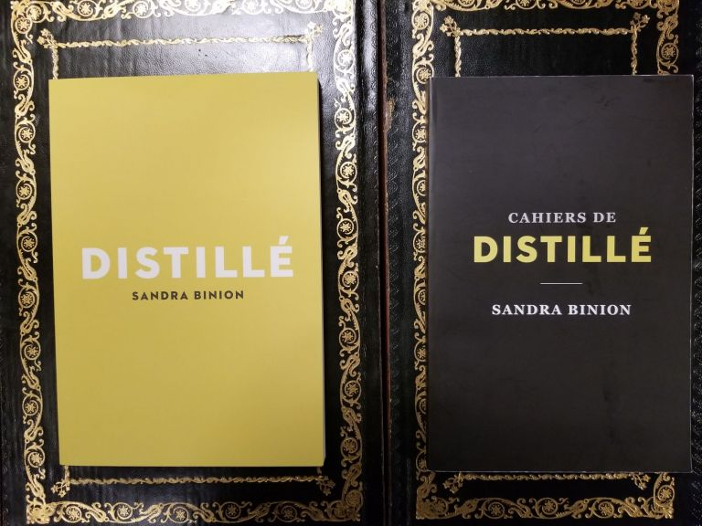 Distillé and Cahiers de Distillé [2 volumes]. Sandra BINION.