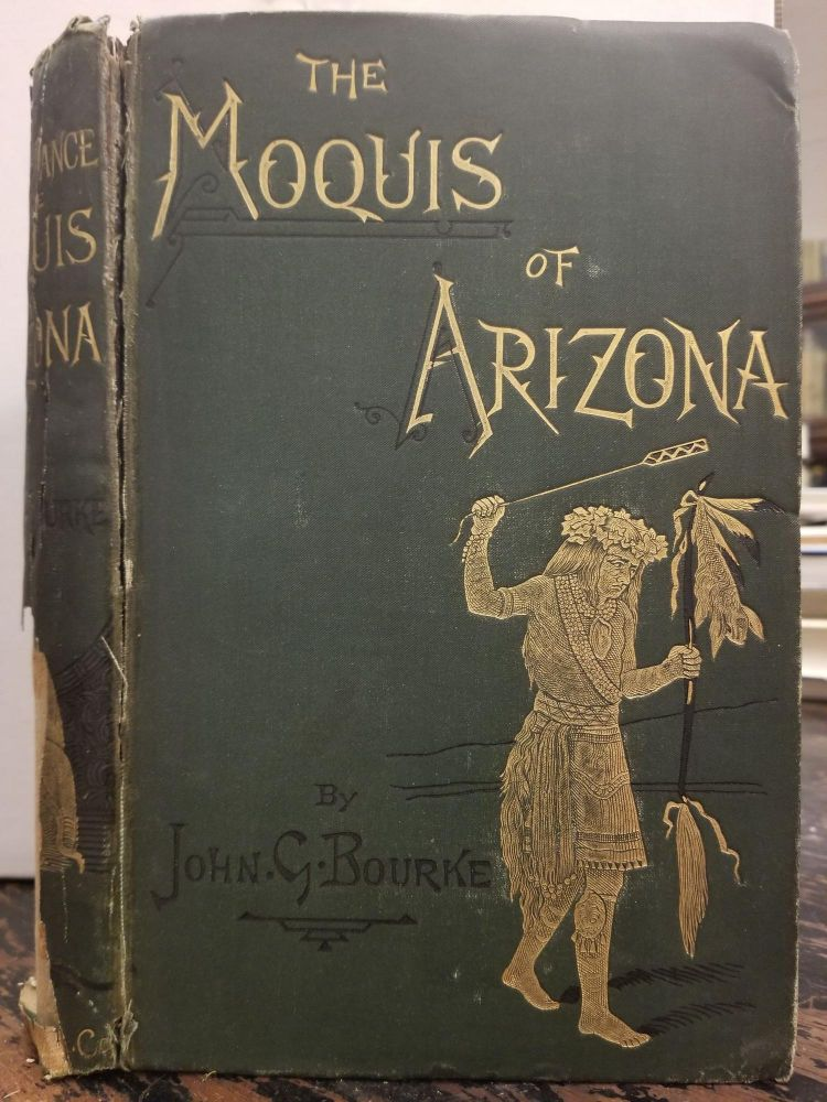 The Snake Dance of the Moquis of Arizona; Being a Narrative of a Journey from Santa Fé, New Mexico, to the Villages of the Moqui Indians of Arizona, with a Description of the Manners and Customs of this Peculiar People, and Especially of the Revolting Religious Rite, the Snake-dance; to which is Added a Brief Dissertation Upon Serpent-worship in General, with an Account of the Tablet Dance of the Pueblo of Santo Domingo, New Mexico, Etc. John G. BOURKE.