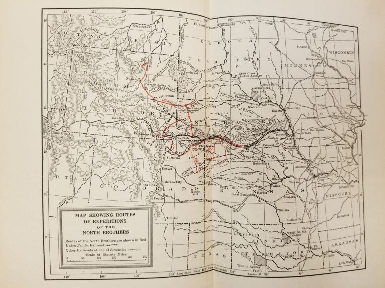 Two Great Scouts and Their Pawnee Battalion; The experiences of Frank J. North and Luther H. North, pioneers in the great west, 1856-1882, and their defense of the building of the Union Pacific Railroad. George Bird GRINNELL.