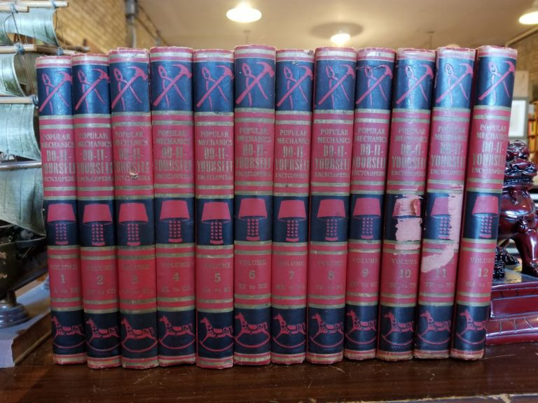 Do-It-Yourself Encyclopedia (set of 12); for home-owner, craftsman and hobbyist in twelve volumes. Popular Mechanics.