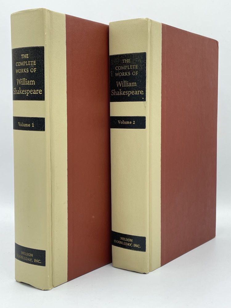 The Complete Works of William Shakespeare [complete in 2 volumes]. William SHAKESPEARE.