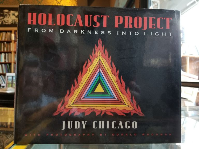 Holocaust Project; From Darkness into Light. Judy Chicago, Donald Woodman, photographer.