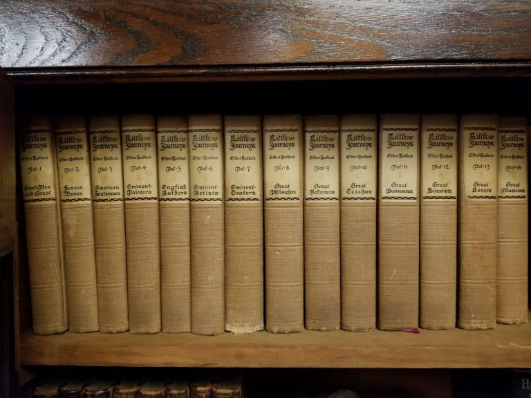 Little Journeys to the Homes of the Great [complete in 14 volumes]. Elbert HUBBARD.