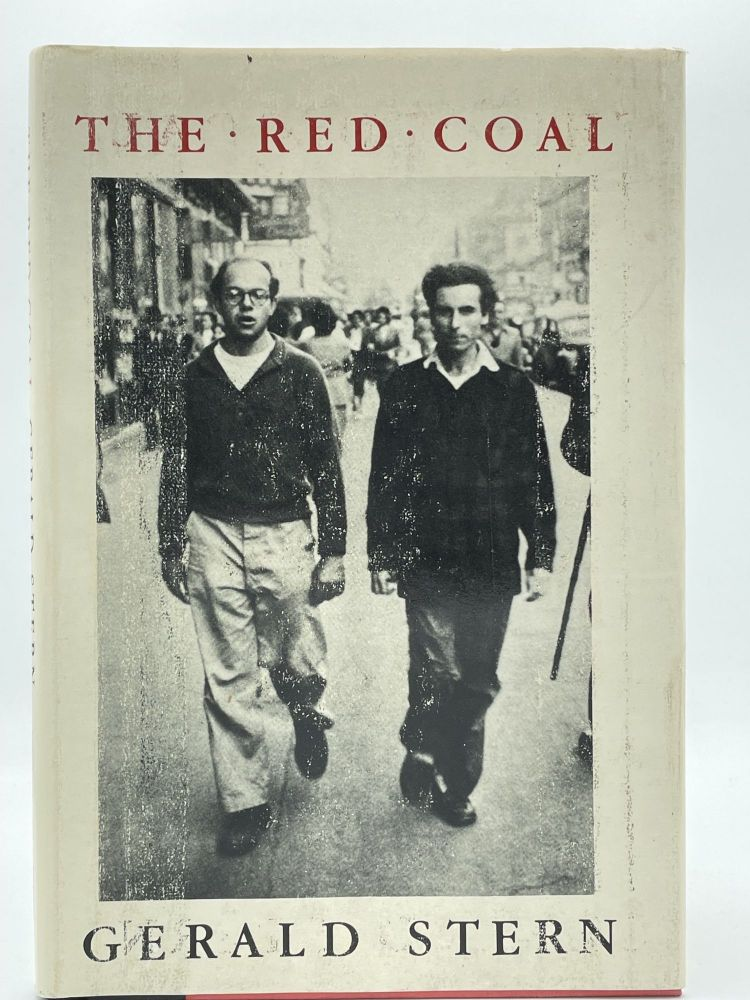 The Red Coal. Gerald STERN, SIGNED.