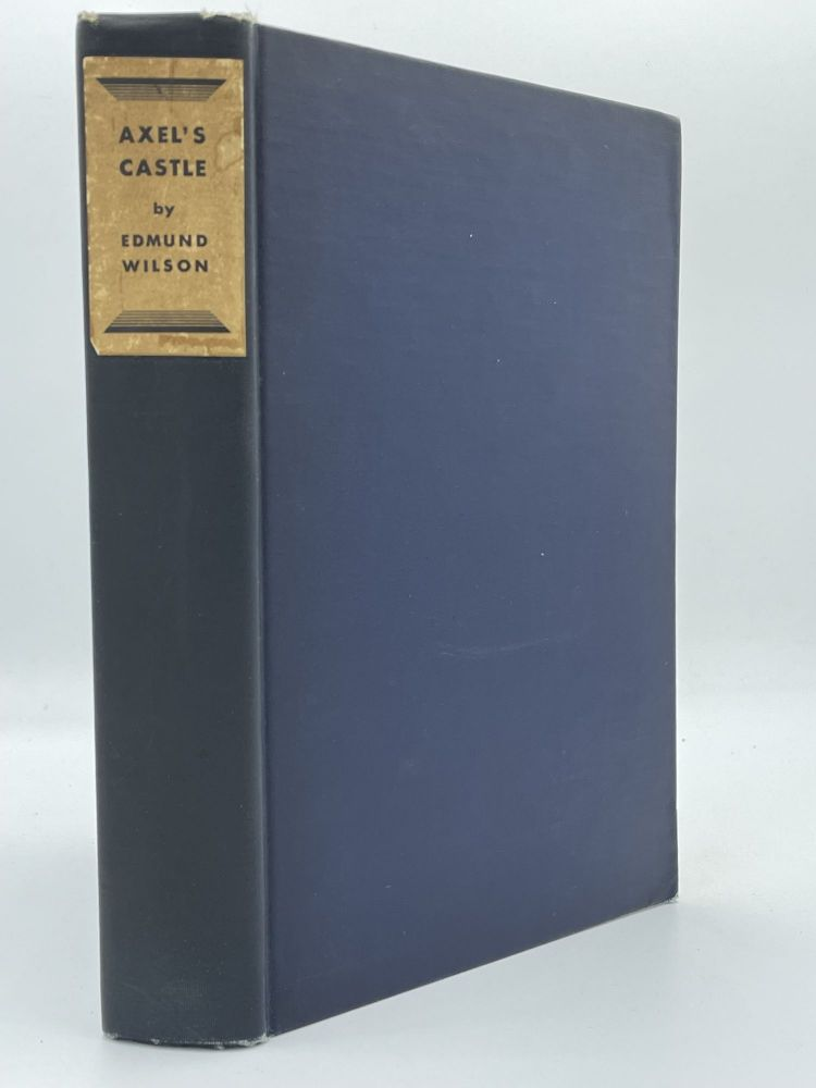 Axel's Castle; A study of in the imaginative literature of 1870-1930. Edmund WILSON.