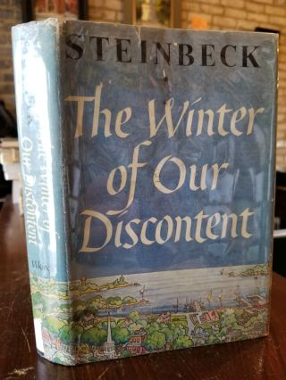 The Winter of Our Discontent. John STEINBECK