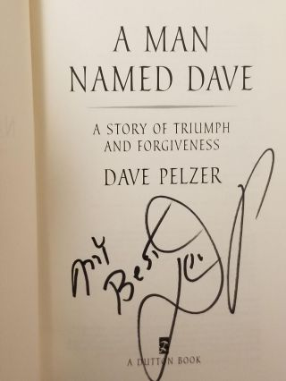 A Man Named Dave; A Story of Triumph and Forgiveness