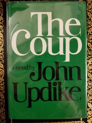 The Coup. SIGNED, John UPDIKE