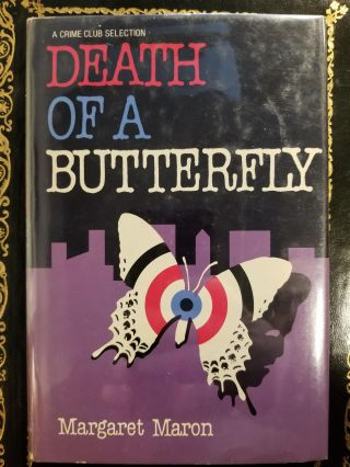 Death of a Butterfly. Margaret MARON