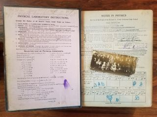Notes in Physics; For the Use of the Pupils of the Richard T. Crane Technical High School