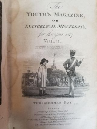 The Youth's Magazine, or Evangelical Miscellany, for the Year 1817; Vol. II