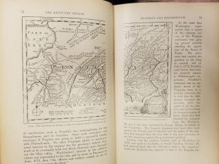 The Westward Movement; The colonies and the republic west of the Alleghanies 1763-1798. With full cartographical illustrations from contemporary sources