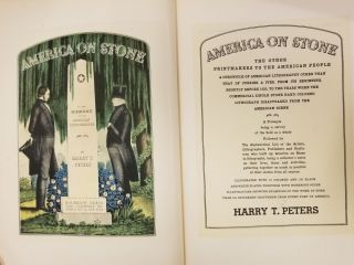 America on Stone; The other printmakers to the American people; a chronicle of American...