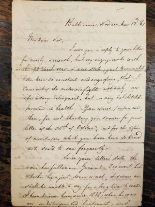 Tah-gah-jute [plus 1861 handwritten personal letter by author]; Or, Logan and Cresap, an historical essay