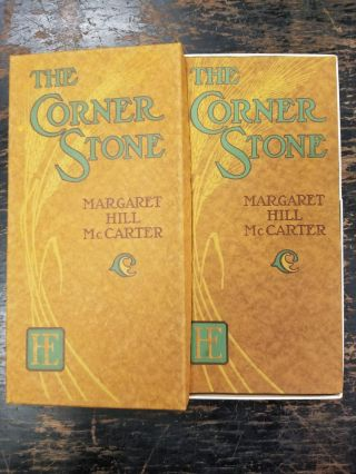The Corner Stone. Margaret Hill MCCARTER