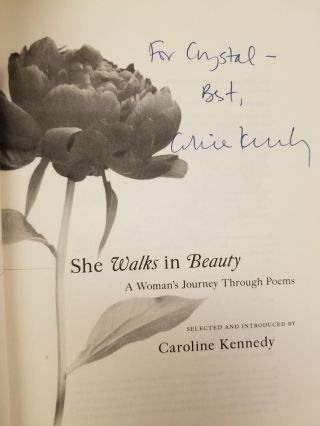 She Walks in Beauty; A Woman's Journey Through Poems