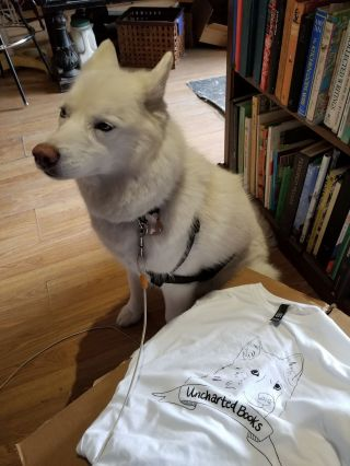 Uncharted Books T-Shirt (S)