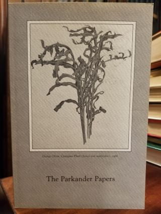 The Parkander Papers; A festschrift honoring Dr. Dorothy J. Parkander. AUGUSTANA COLLEGE LIBRARY