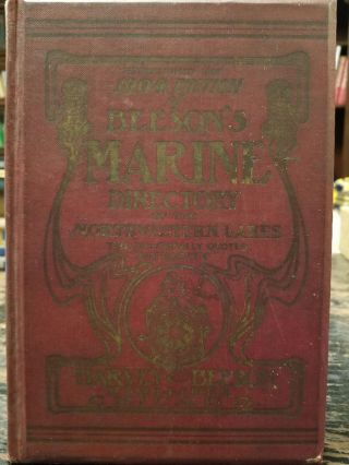 Louisiana Purchase Expedition Edition of Beeson's Marine Directory of the Northwestern Lakes....