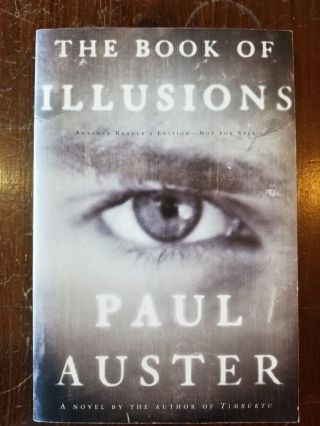 The Book of Illusions. Paul Auster