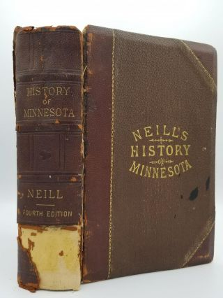 History of Minnesota. Edward D. NEILL