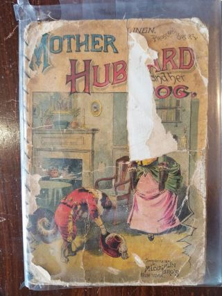 Mother Hubbard and Her Dog. McLoughlin Bros, publisher
