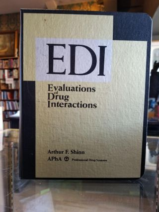 EDI (Evaluations of Drug Interactions). Arthur F. Shinn