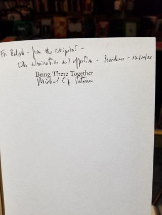 Being There Together: Essays in Honor of Michael C.J. Putnam