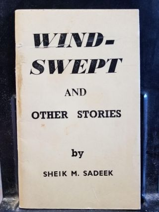 Windswept and Other Stories. Sheik M. Sadeek