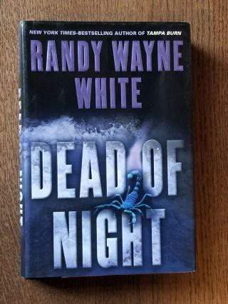 Dead of Night. Randy Wayne WHITE, SIGNED